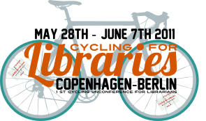 cyclingforlibraries logo
