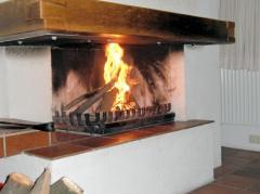 Kaminfeuer bei Wuppen 12.1
