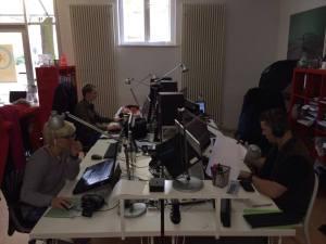 CoWorker bei der Arbeit