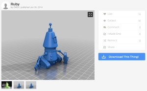 Thingiverse als Quelle für 3D-Druckvorlagen